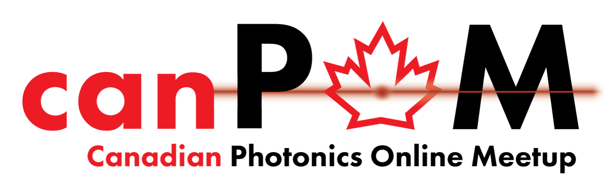 Canadian Photonics Online Meetup